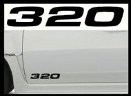 BMW 320 CAR BODY DECALS